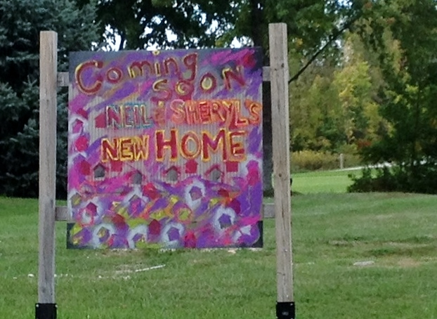 Neil and Sheryl's new Home