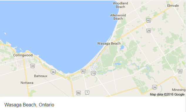 wasaga-beach-map